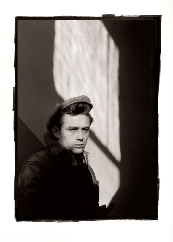 James Dean by Dennis Stock. Commissioned by Magnum Photos